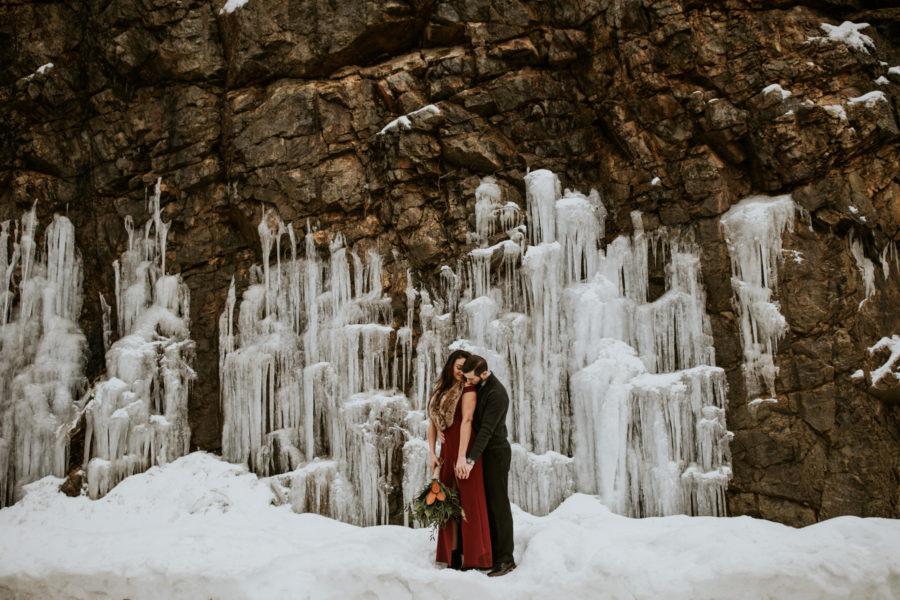 snoqualmie pass engagement shoot