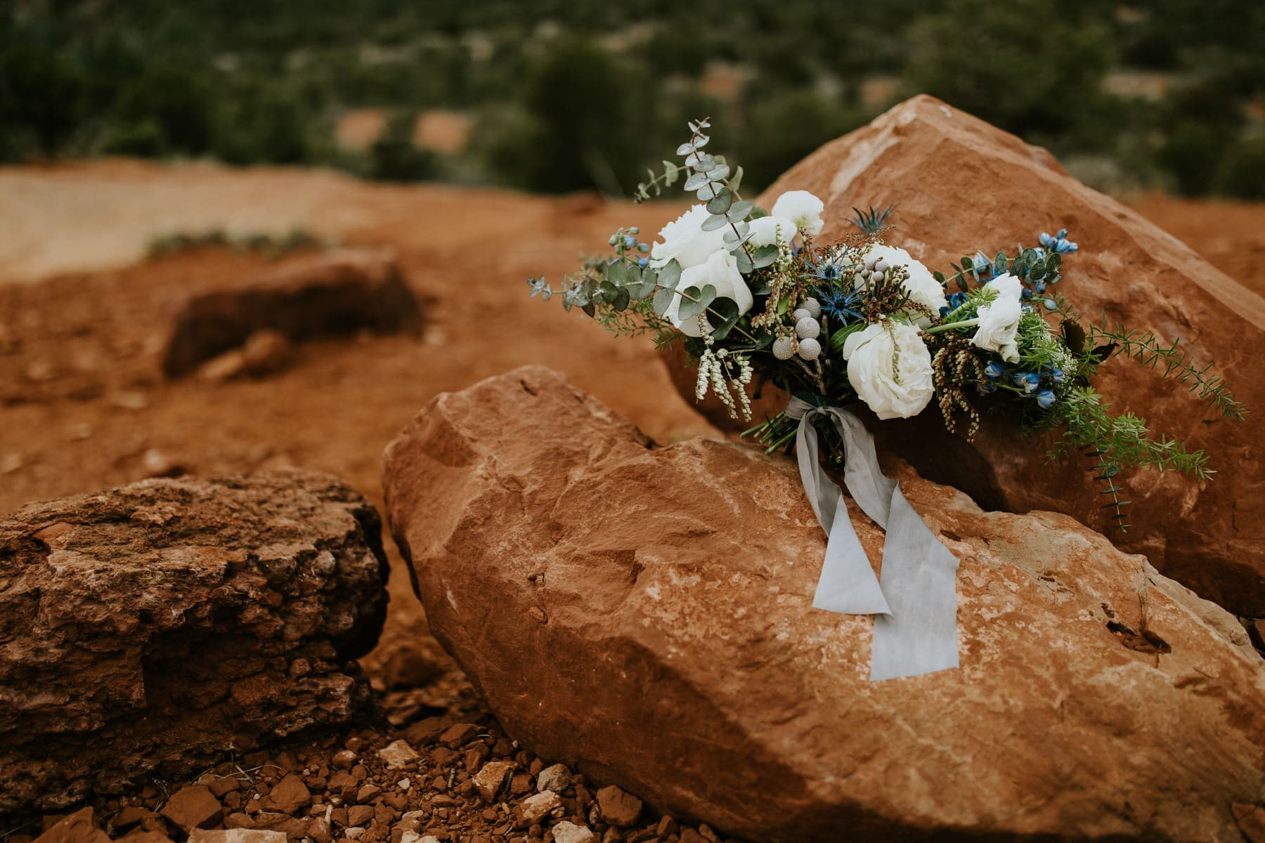 root floral design bouquet in sedona