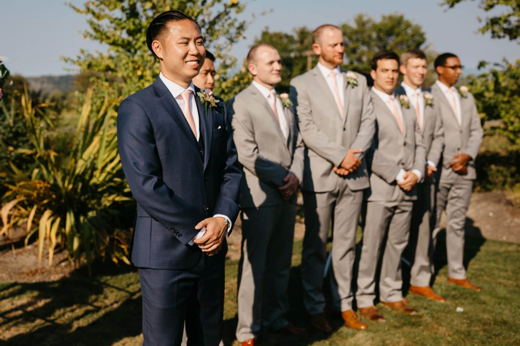 dairyland wedding ceremony august