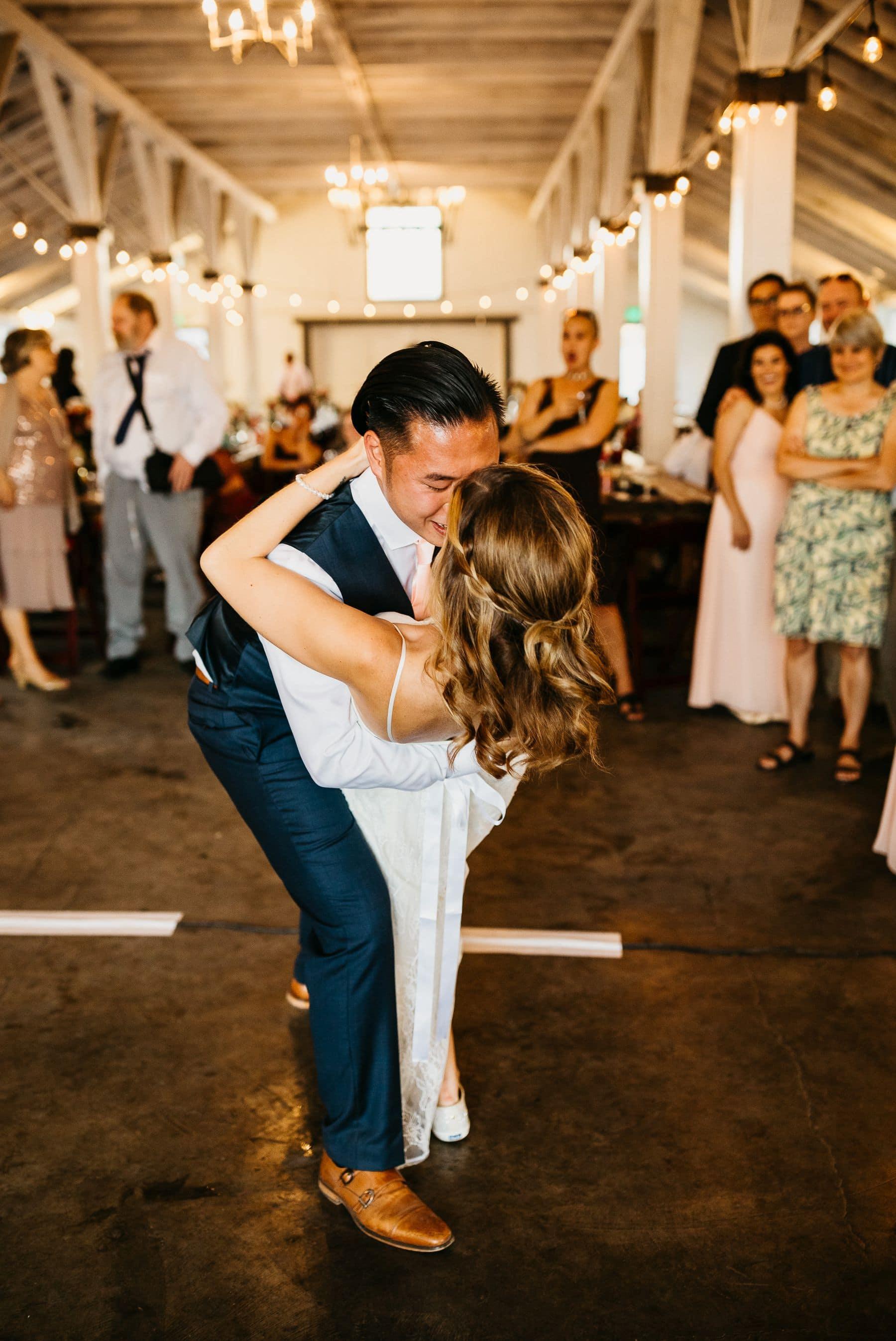 dairyland wedding first dance