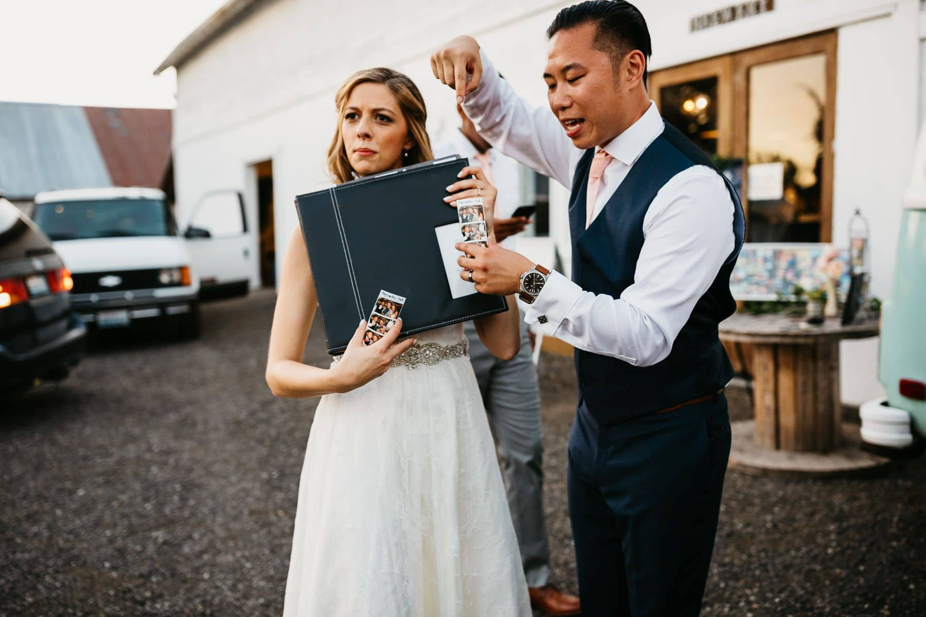 dairyland wedding snohomish photobooth
