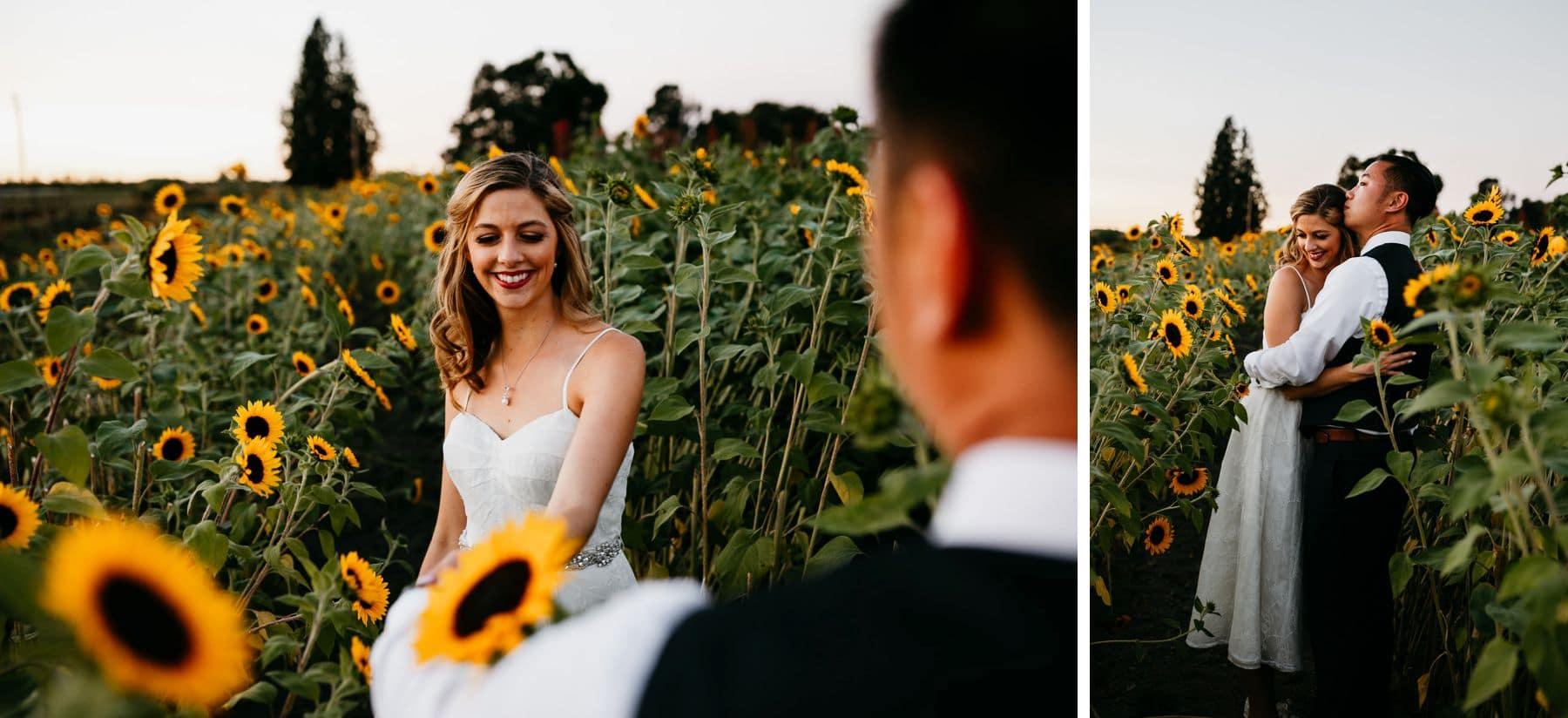 dairyland wedding woodland meadow farms portrait