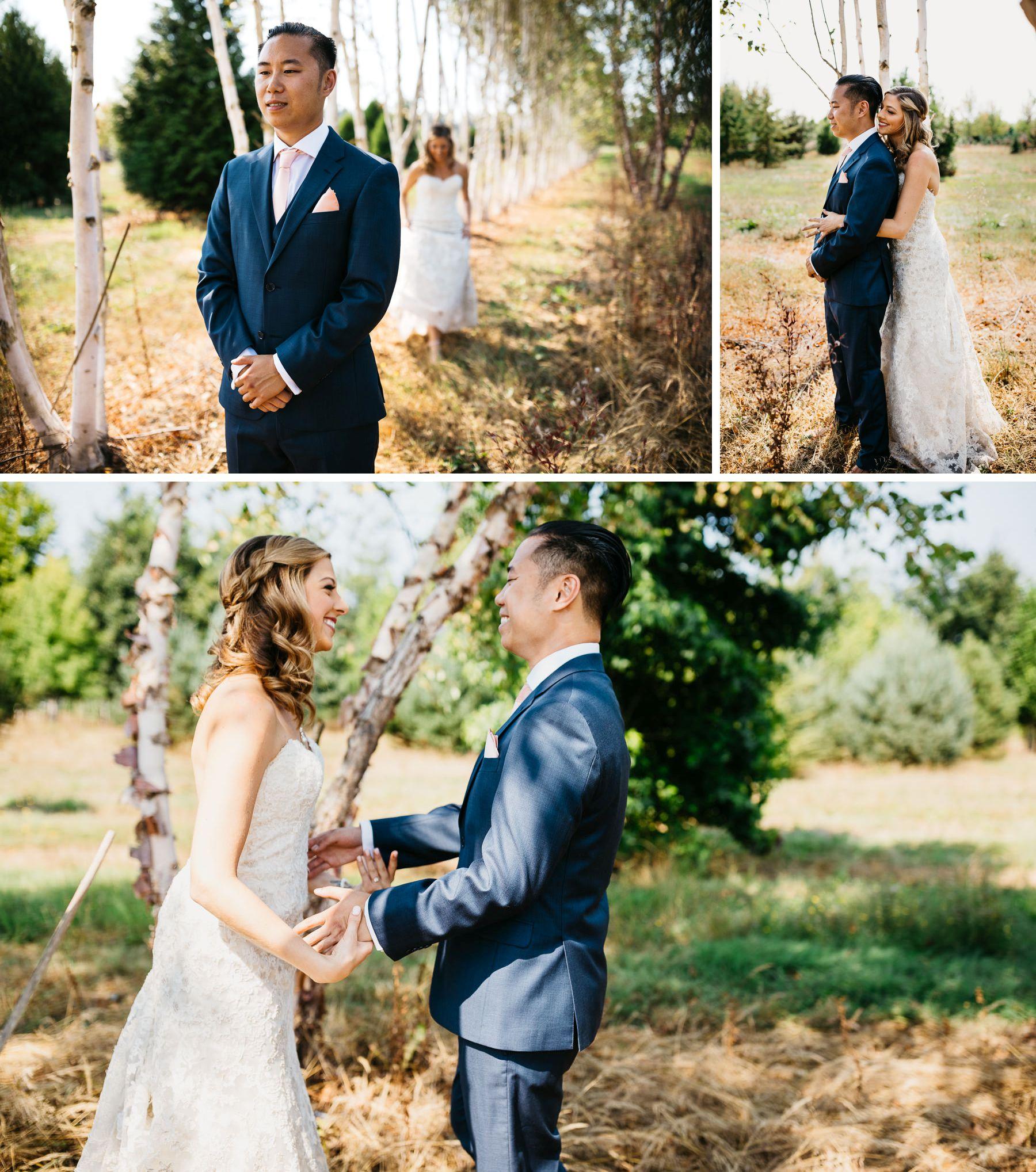 dairyland wedding woodland meadow farms paper tree