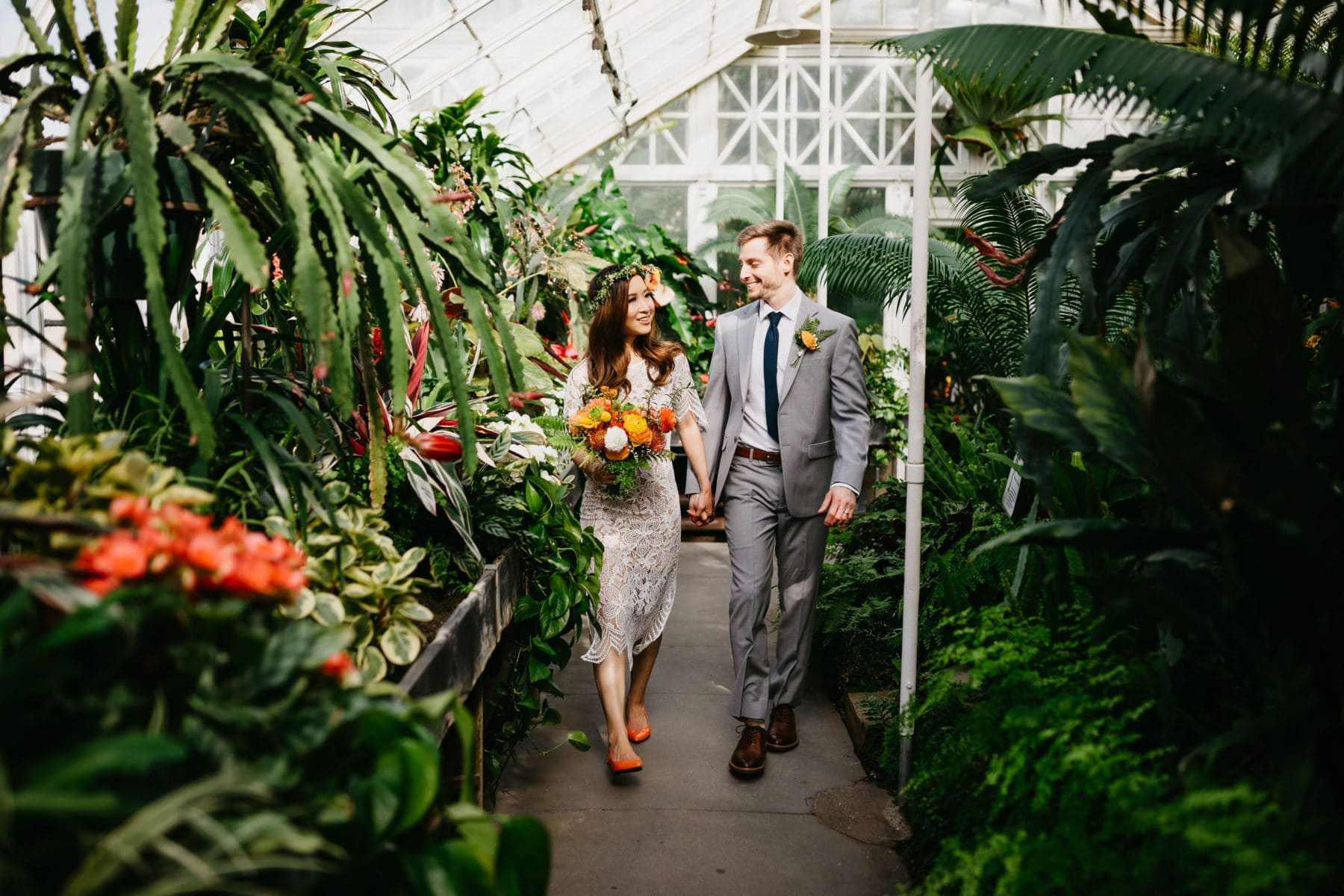 volunteer park conservatory wedding