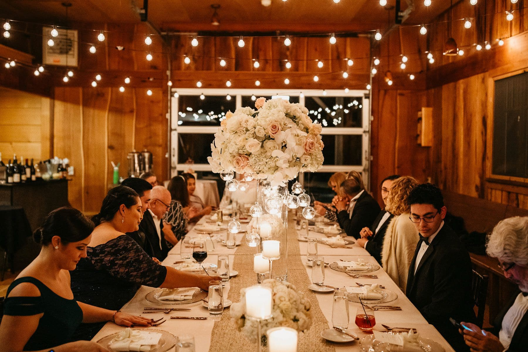 treehouse point wedding reception