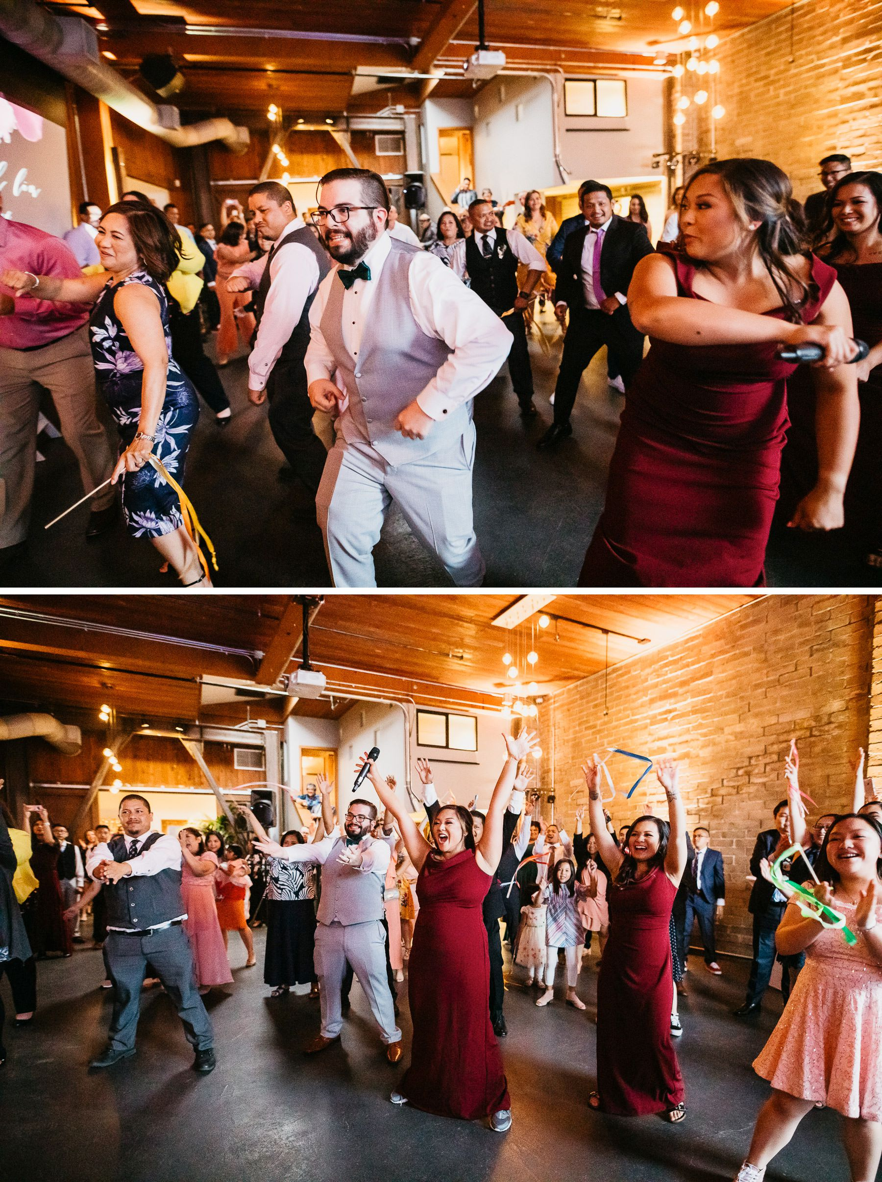 within sodo wedding dancefloor
