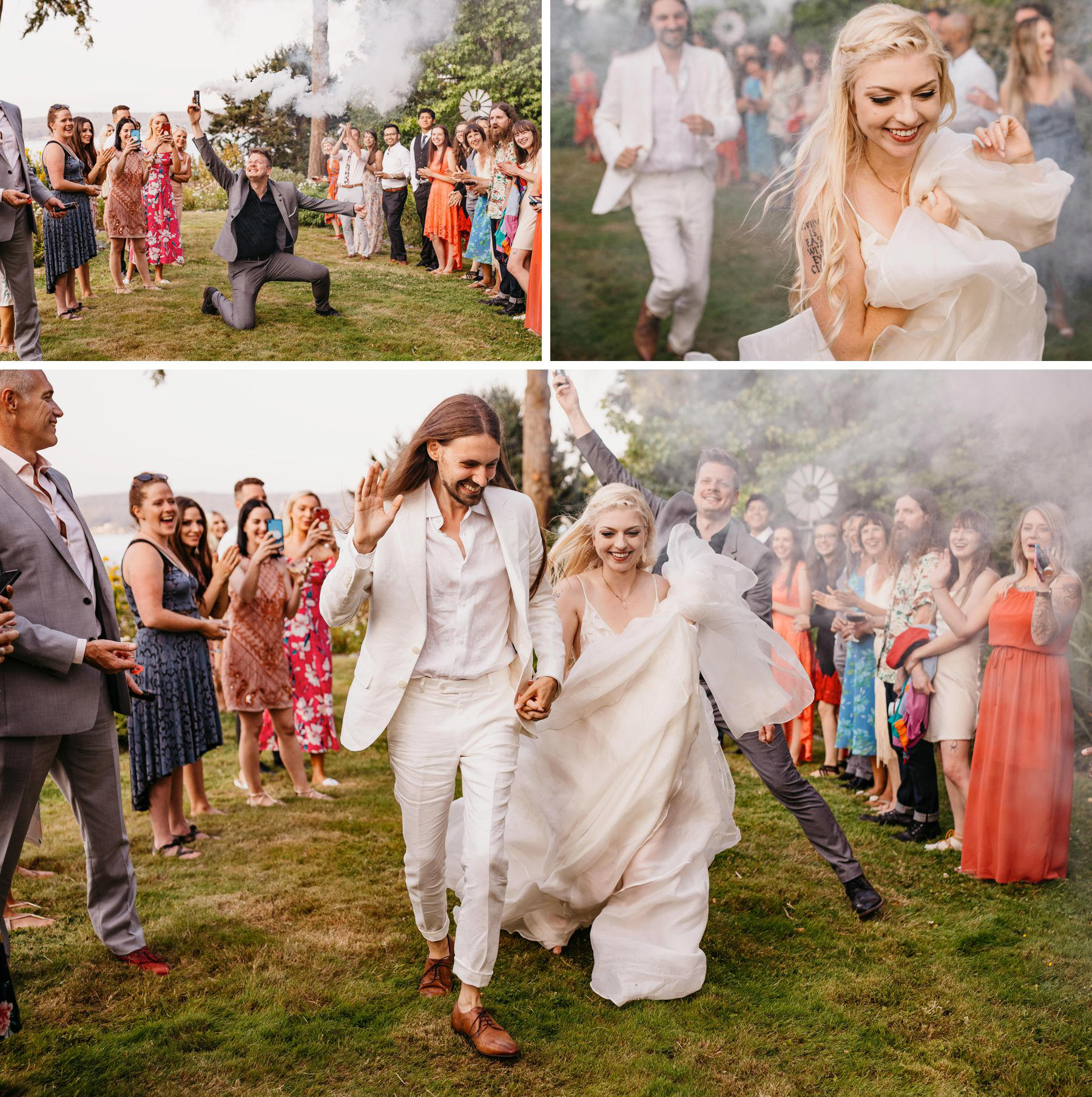 deception pass wedding bluff on whidbey