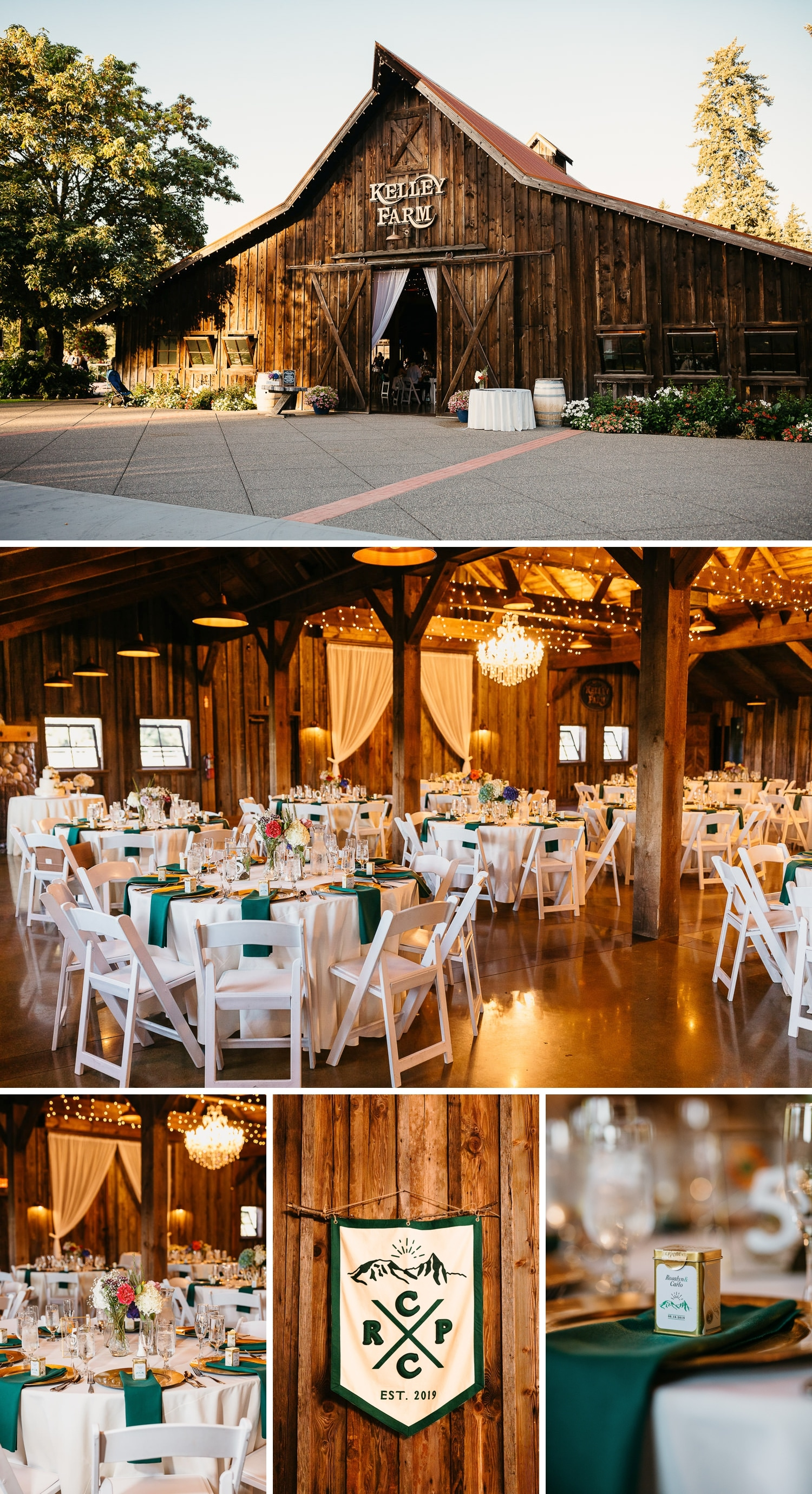 the kelley farm wedding reception