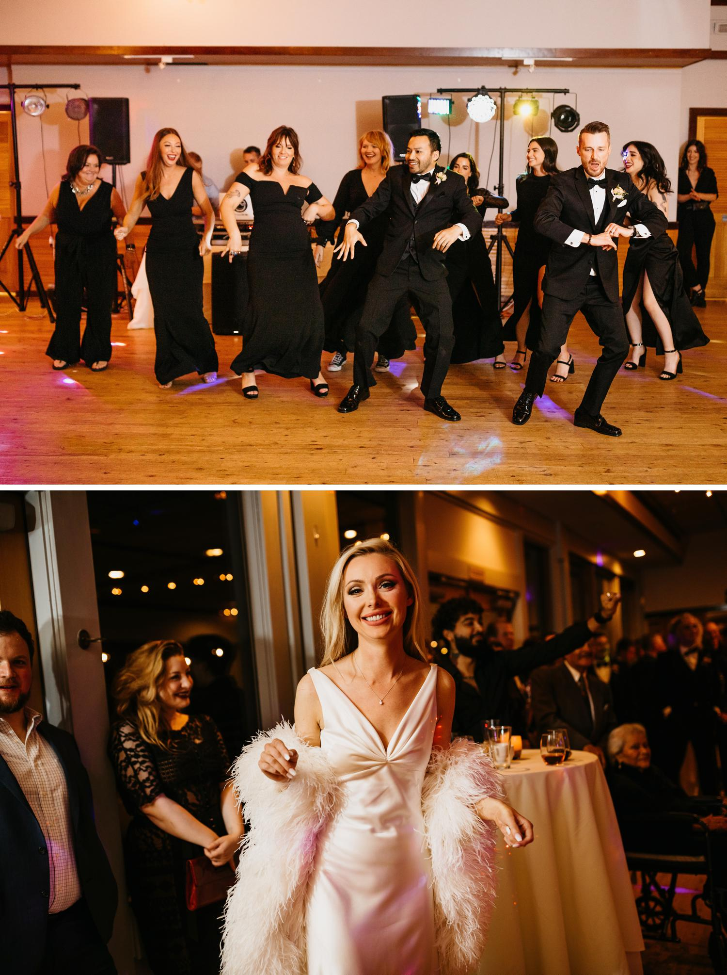 wedding surprise flash mob