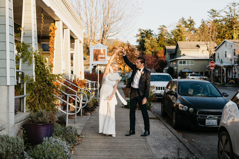 eastsound wedding in autumn
