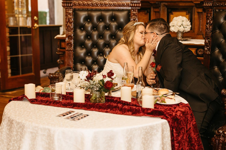 thornewood castle wedding reception